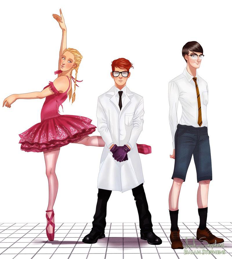 héros-enfance-laboratoire-dexter-adulte