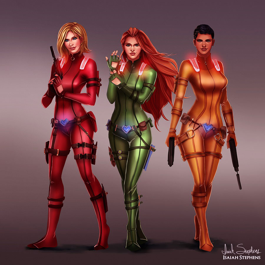 héros-enfance-totally-spies-adulte