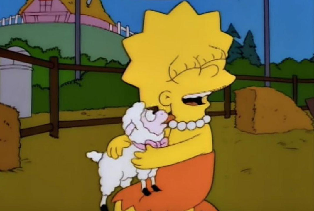 lisa-simpson-vegetarienne