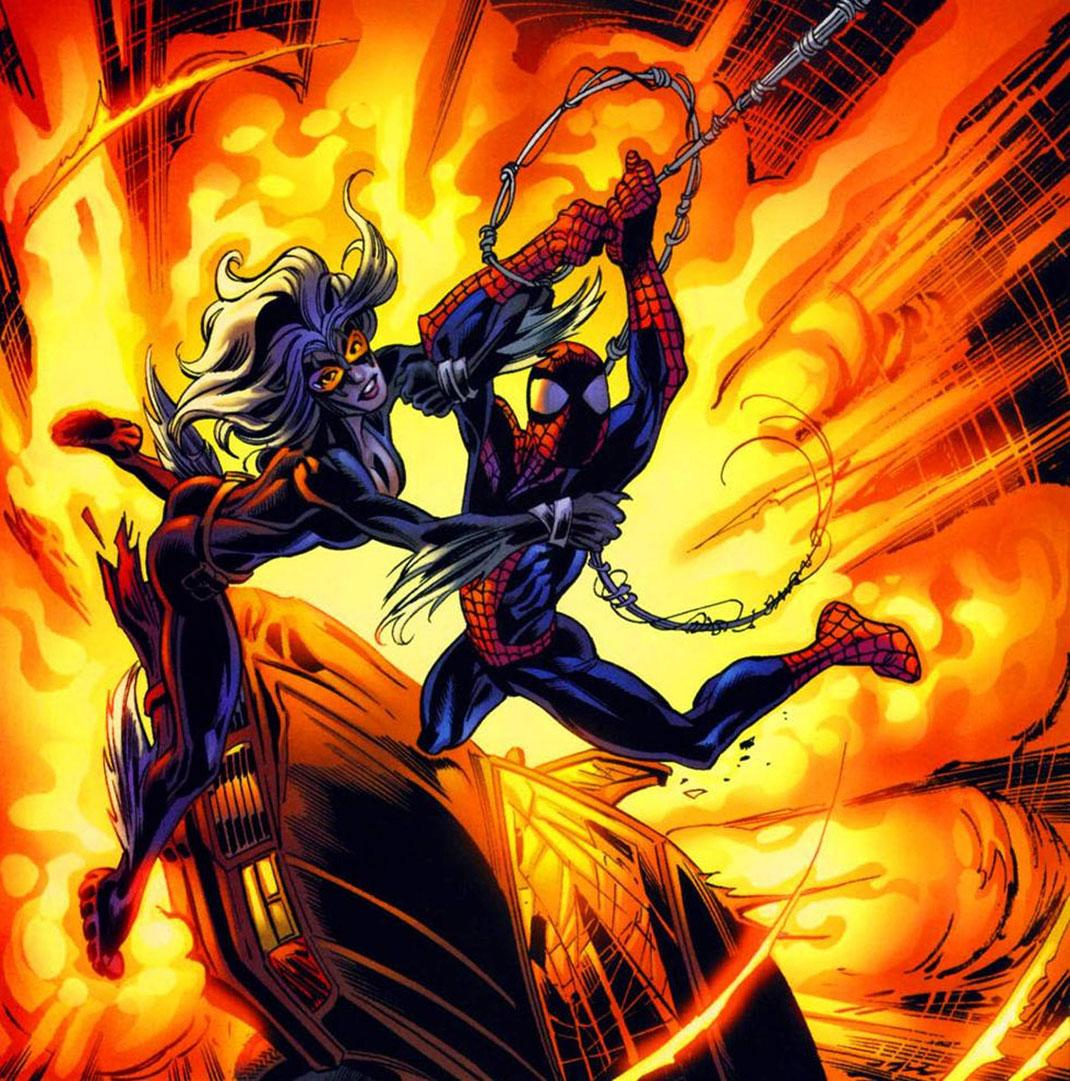 spiderman-black-cat-couple