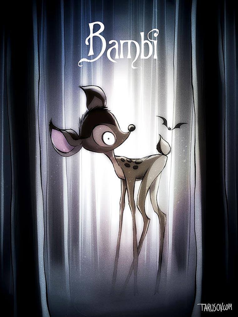 Bambi-Tim-Burton-Disney