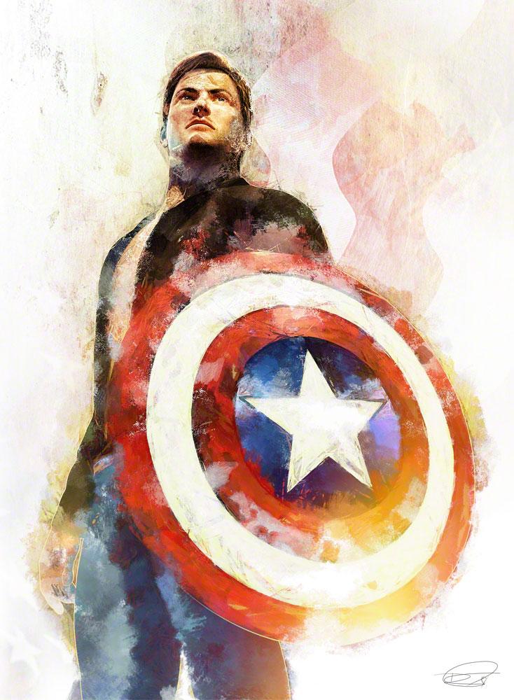 Daniel-Murray-captain-america-portrait