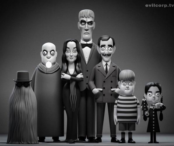La-famille-addams
