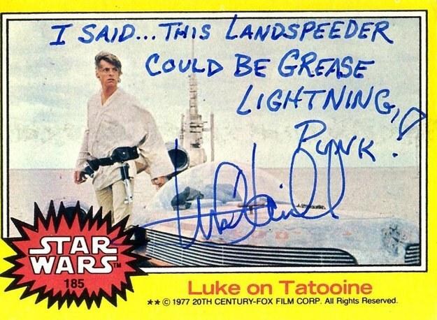 Mark-hamill-autographe-landspeeder