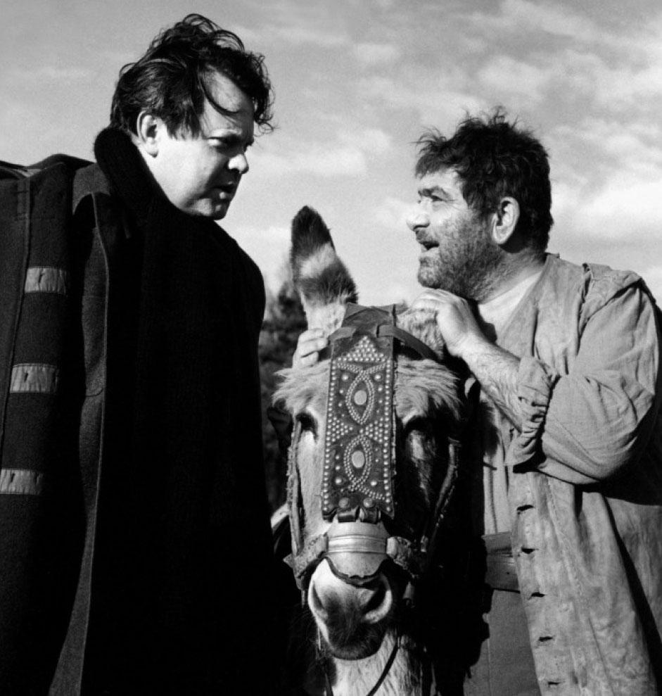 Orson-Welles-tournage-Don-Quichotte