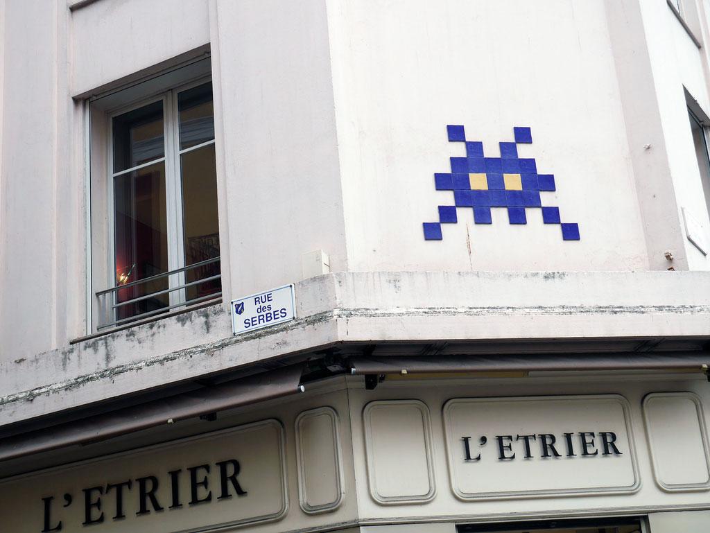 Paris-Space-invader