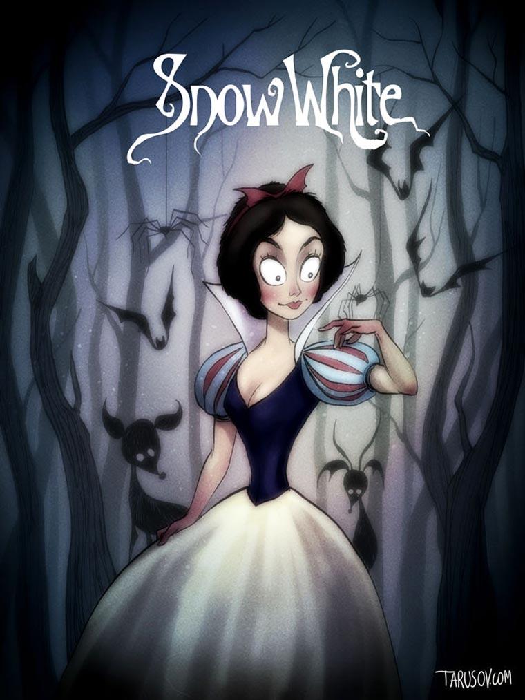 Tim-Burton-Disney-blanche-neige