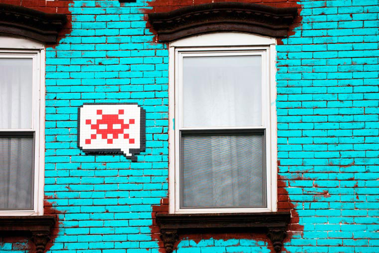 new-york-space-invaders