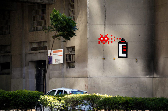 rome-space-invader