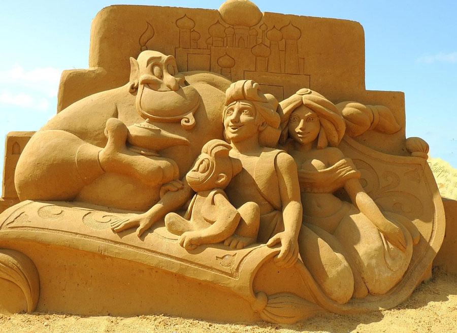 sculpture-sable-aladdin