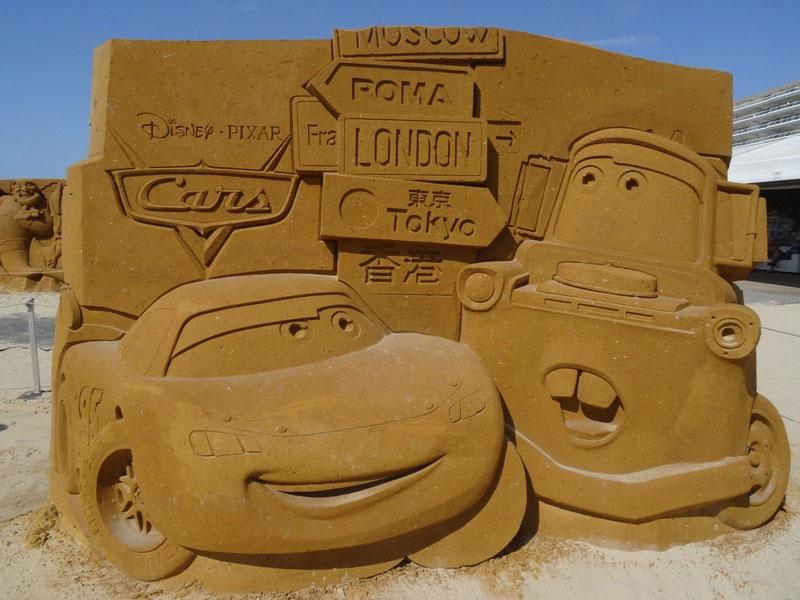 sculpture-sable-cars
