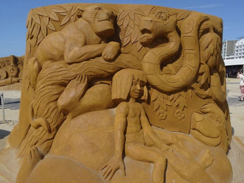sculpture-sable-livre-jungle