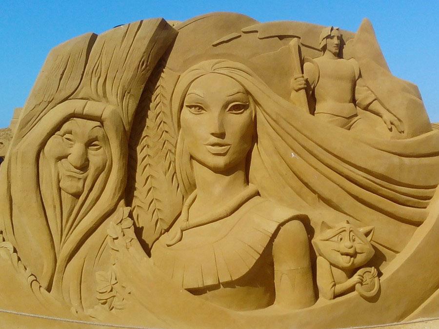 sculpture-sable-pocahontas