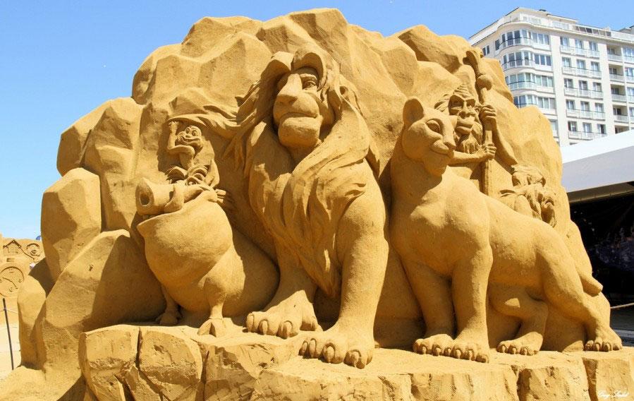sculpture-sable-roi-lion