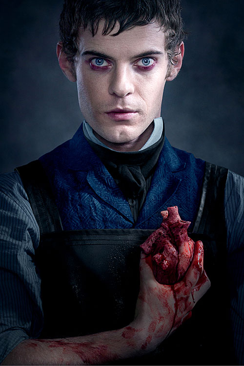 Harry Treadaway as Dr. Victor Frankenstein in Penny Dreadful - (keyart) Photo:Courtesy of SHOWTIME