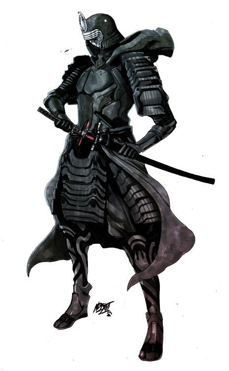 Nikolas-Draperivey-Samurai-Kylo-Ren