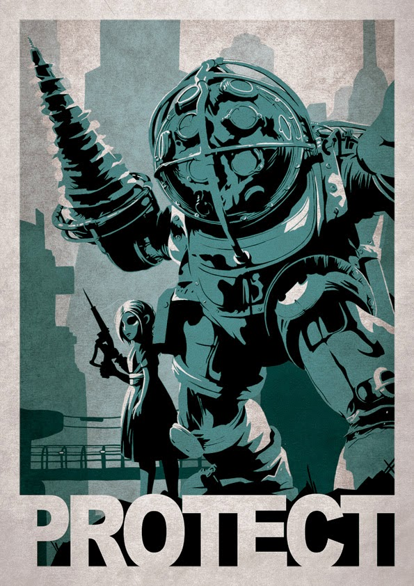 Protect (Bioshock) by Alex Ramallo