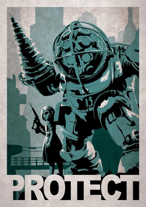 Protect (Bioshock) by Alex Ramallo