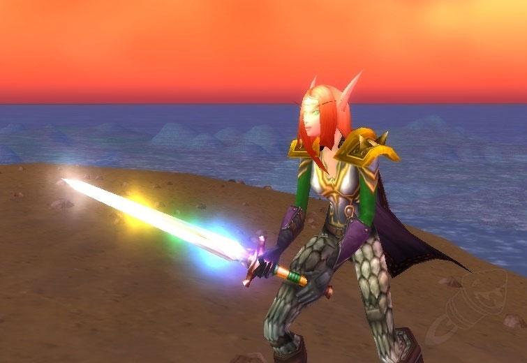 butins-rares-wow-épée-chromatique
