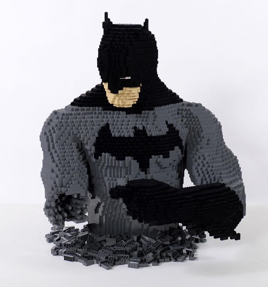 Cet Artiste Cr 233 E D Impressionnantes Sculptures En Lego En