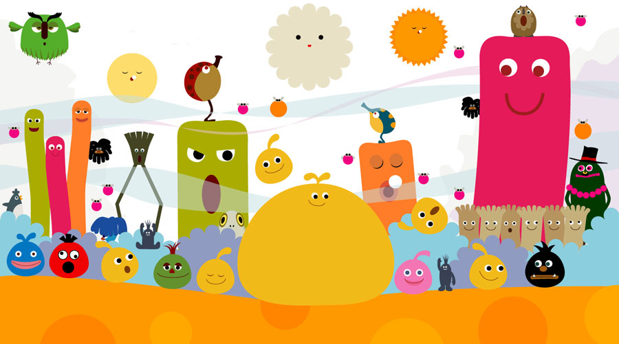 locoroco-personages