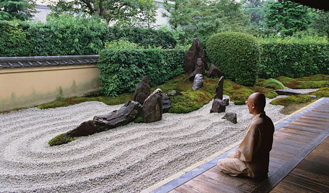 V ritable tradition japonaise les jardins zen se pr tent for Le jardin oriental