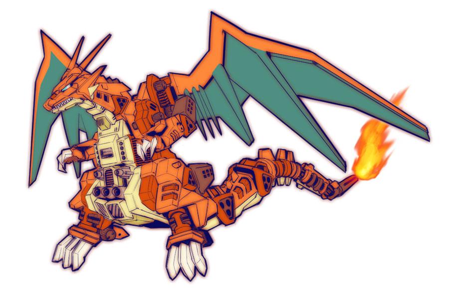pokezoid-dracaufeu
