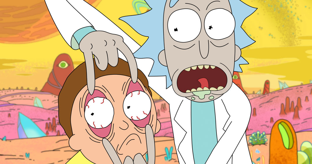 rick-and-morty-une