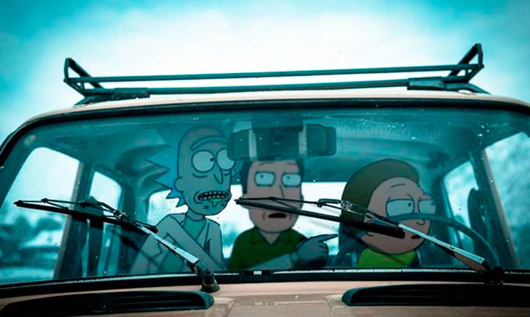 rick-morty-voiture