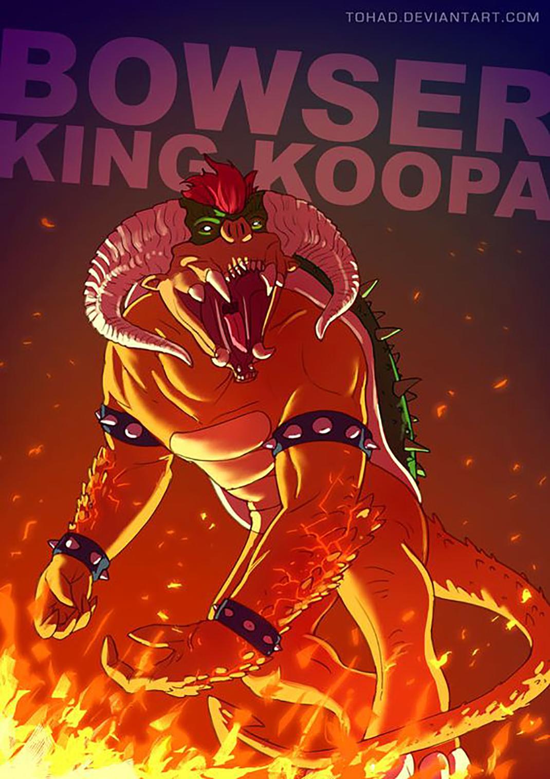Bowser Roi Koopa