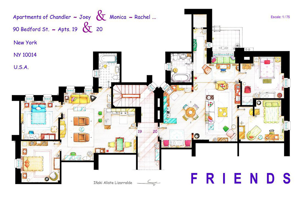 Friends-Floor