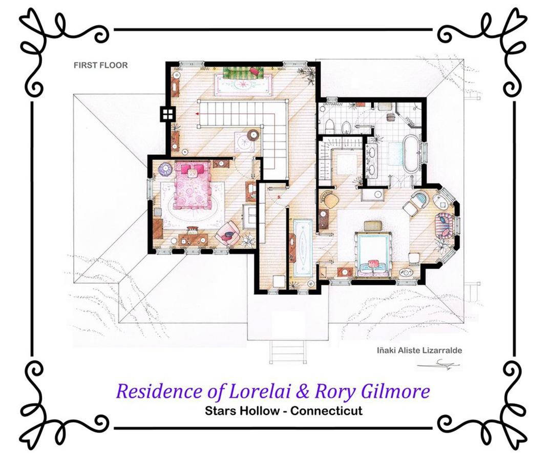 Gilmore-Girls-First-Floor
