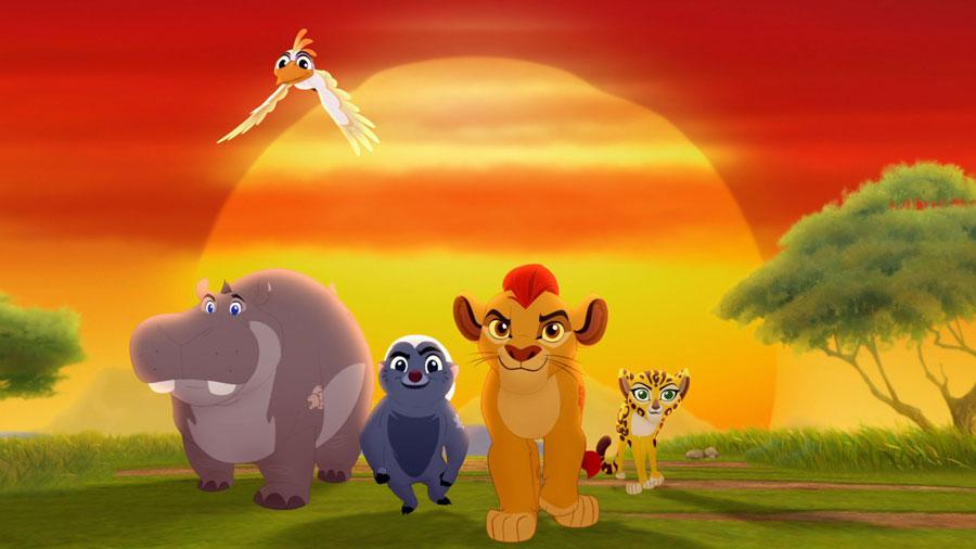 garde-roi-lion-groupe