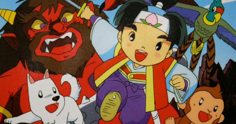 momotaro-dessin-animé