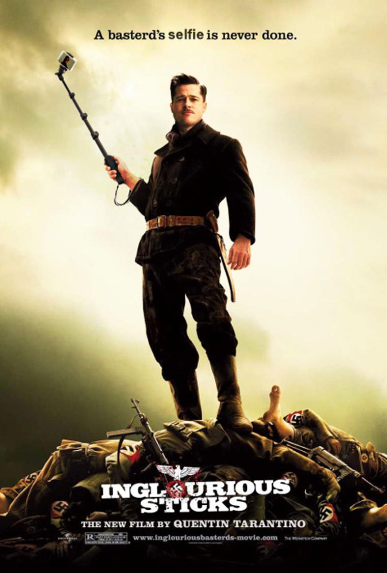 selfie-stick-inglorious-basterds