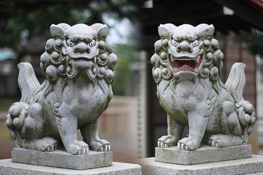 shisa-sculpture