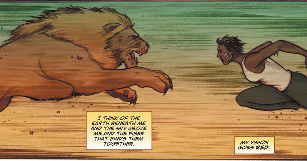 vixen-comics-lion