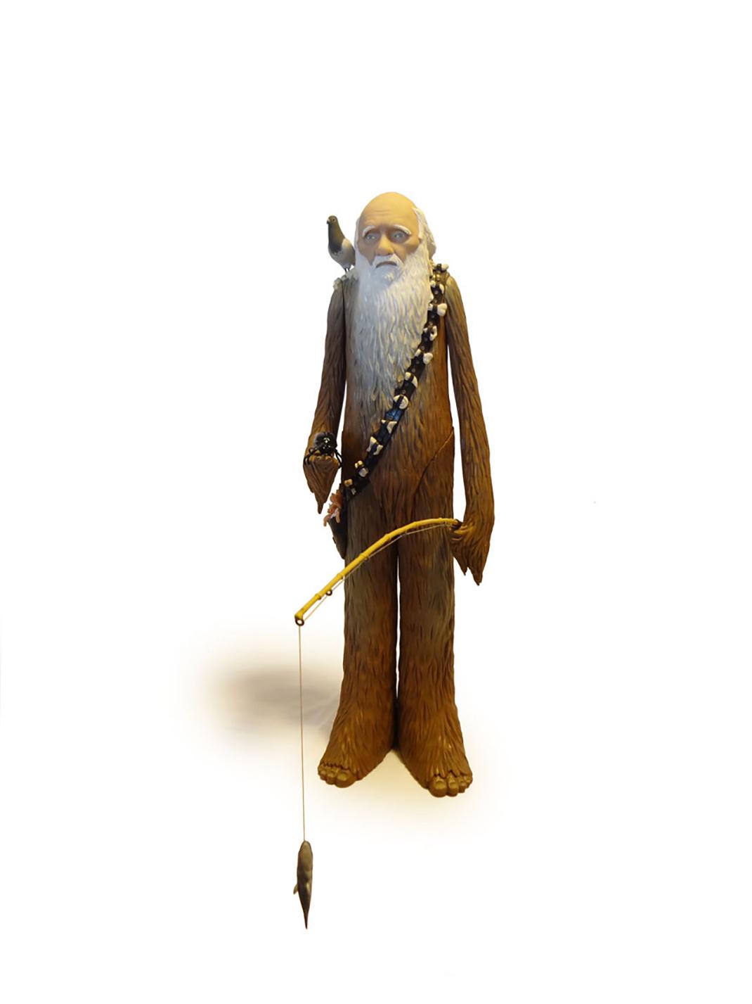 Charles Darwin-Chewbacca