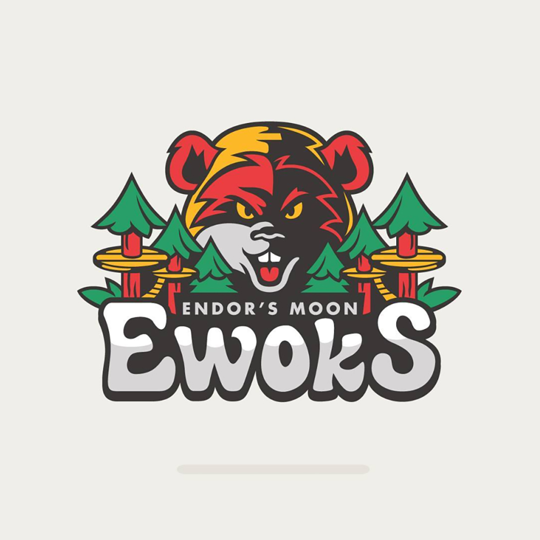 Endor's Moon Ewoks based on #timberwolves