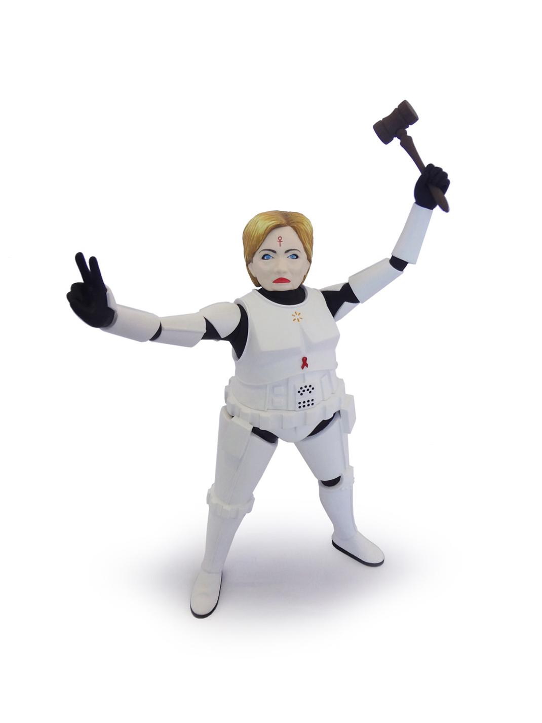 Hillary Clinton-Storm Trooper