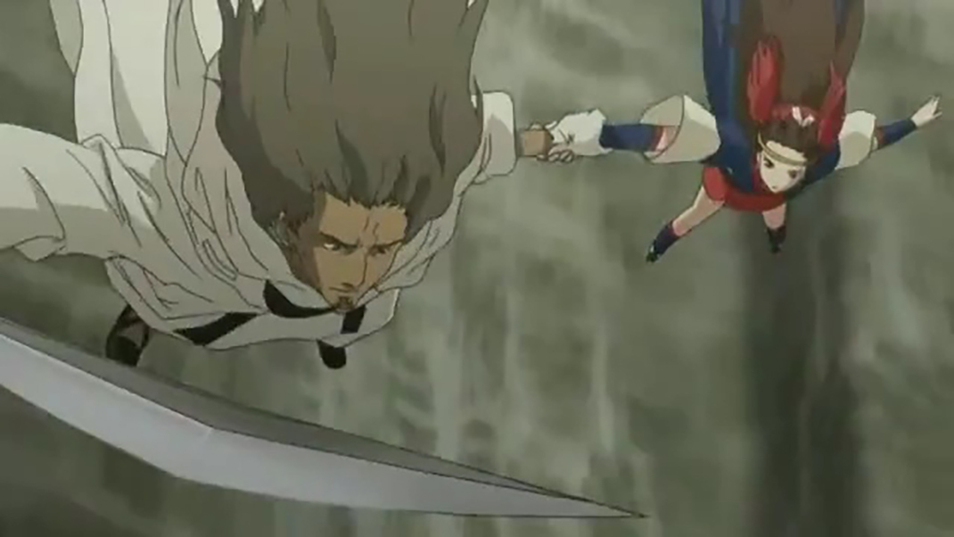 Kambei saved Kirara