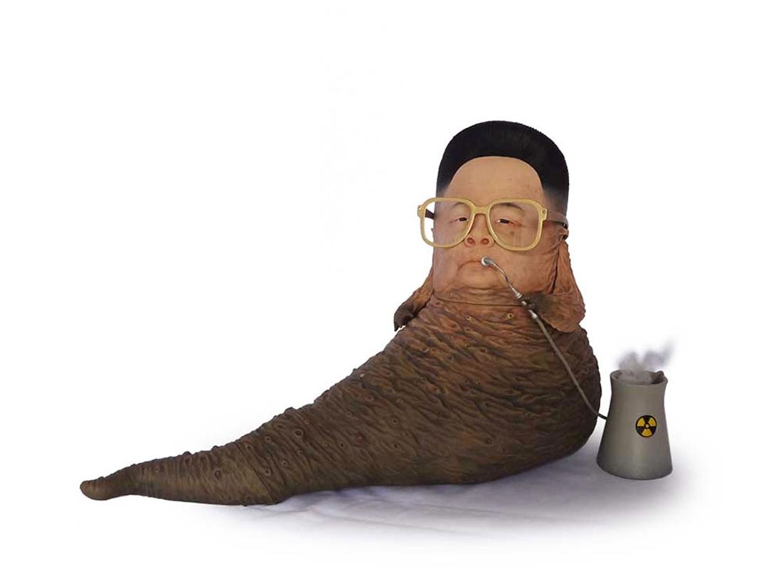 Kim Jong Il-Jabba the Hutt