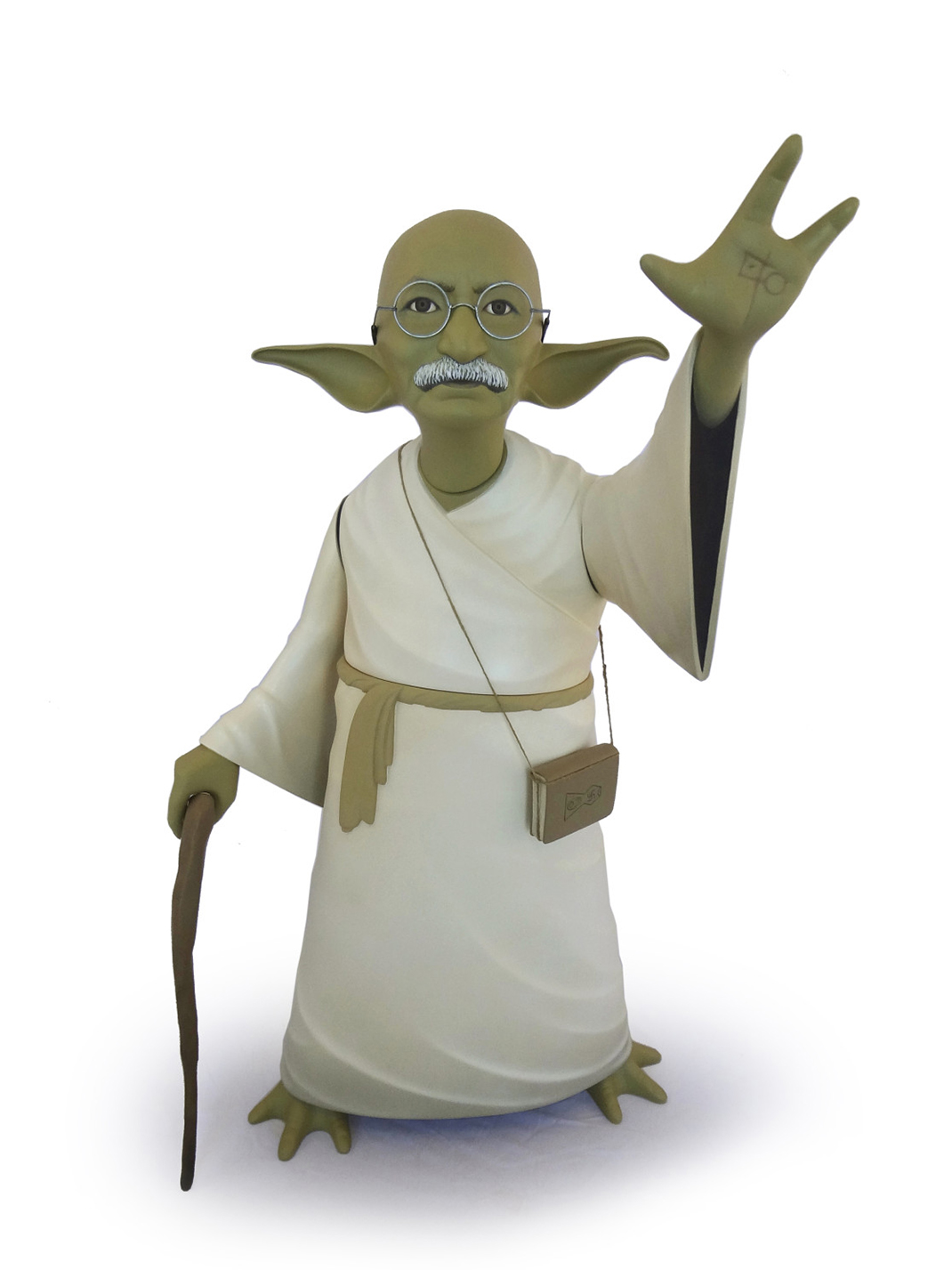 Mahatma Gandhi-Yoda
