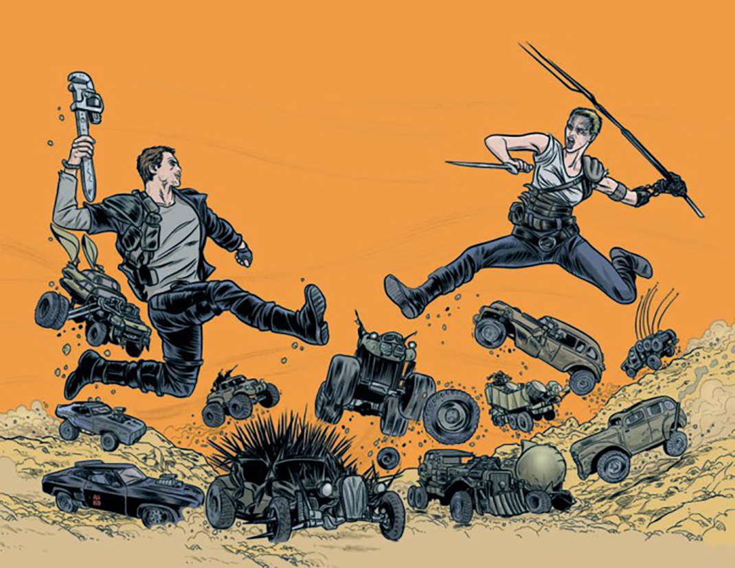 Mike-Allred-Mad-Max-Fury-Road