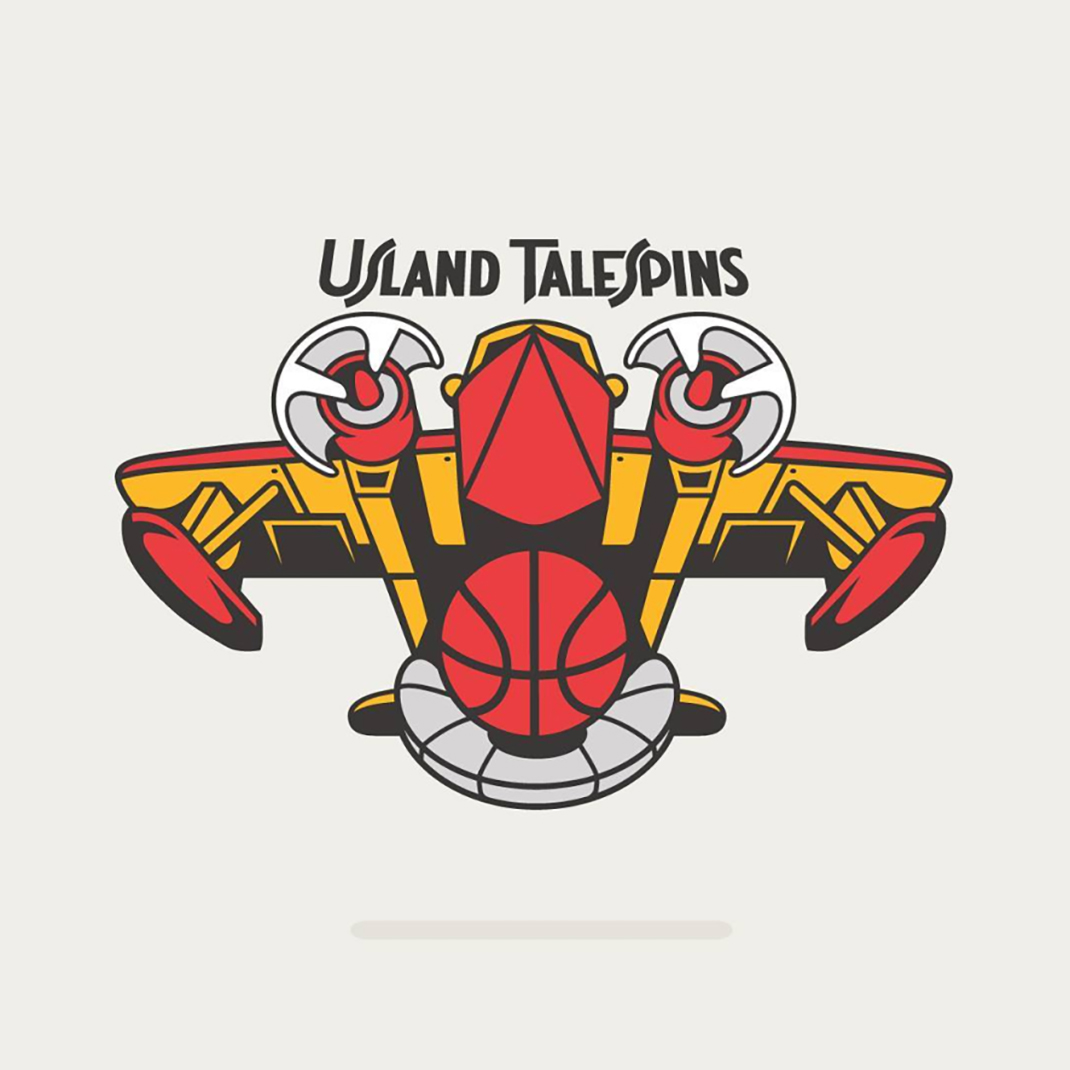 Usland TaleSpins based on #atlantahawks