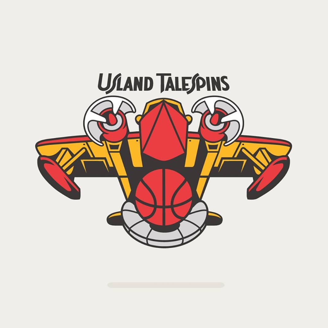 Usland TaleSpins based on #atlantahawks