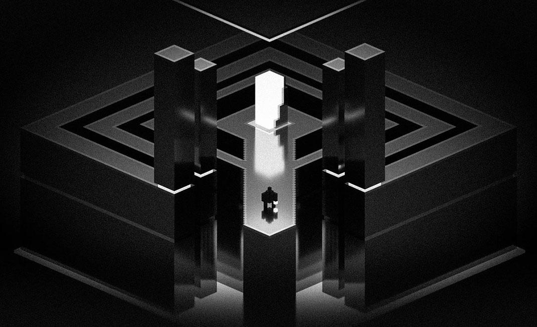 below-voxel-art