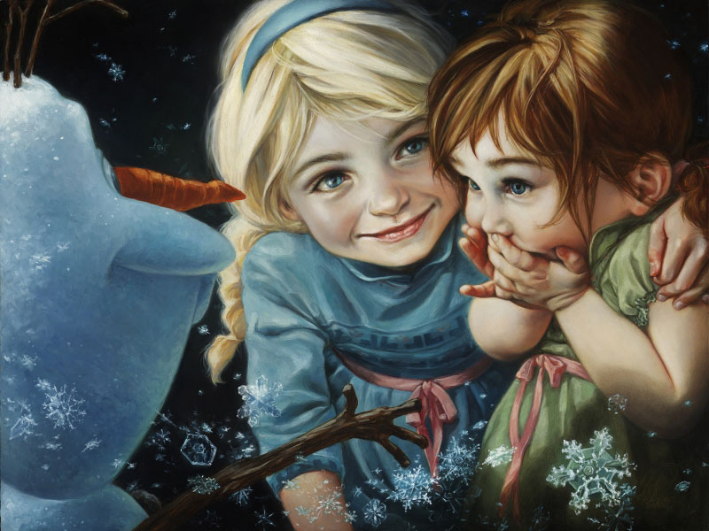 peintures-disney-anna-et-elsa