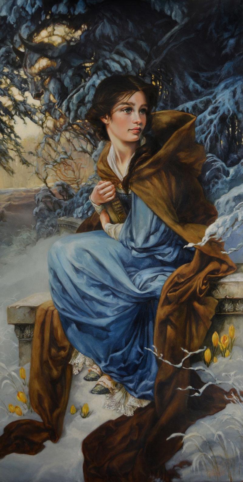 peintures-disney-belle