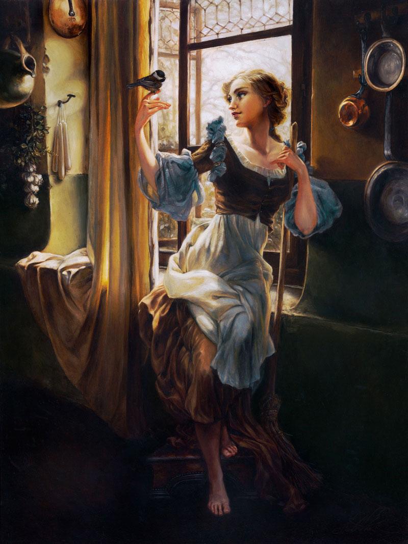 peintures-disney-cendrillon
